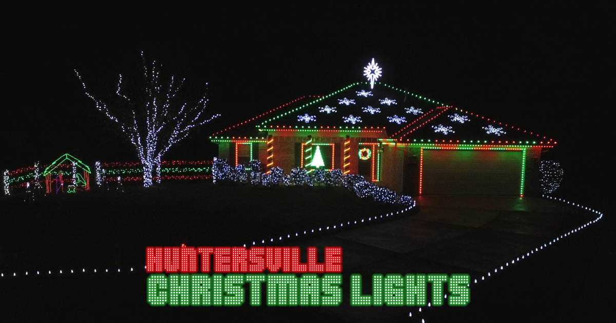 An award-winning musical display of LED Christmas lights